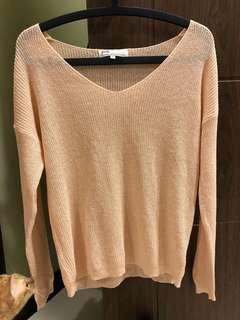 Pazzo 淡粉紅針織毛衣 #衣櫃大掃除