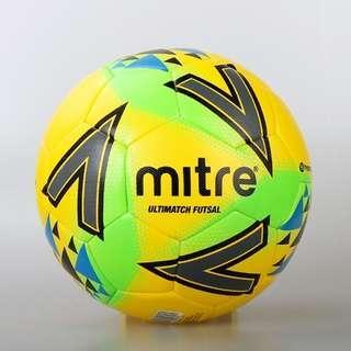 Mitre Ultimatch Fluo Futsal Ball