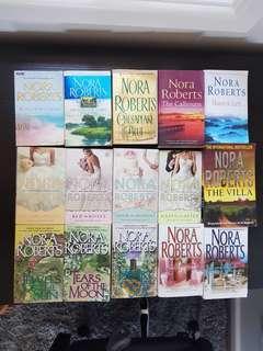 Nora Roberts romance novel collection × 15 pieces