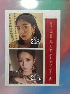 [WTS] Apink Percent Message Card (Bomi)