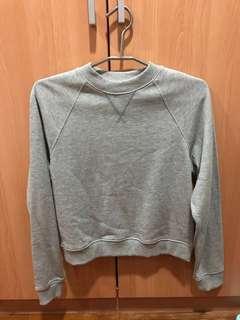 H&M basic grey sweater