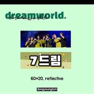 [sg go] dreamworld ; nct dream slogan