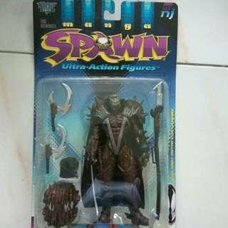 Todd McFarlane's manga Spawn ultra action figures