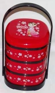 🚚 日本 不二家 PEKO 三層糖果提盒 糖果盒
