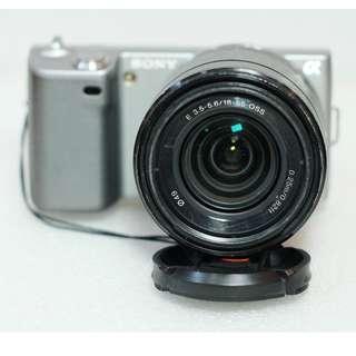 Sony Nex-5 Kit 18-55mm Lengkap Box