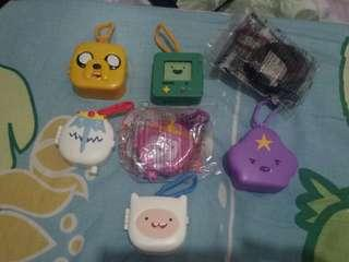 [INCL POSTAGE] ADVENTURE TIME MCDONALDS HAPPY MEAL TOYS