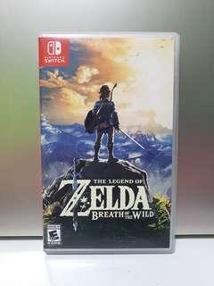 Nintendo Switch The Legend Zelda of Zelda Breath of the Wild