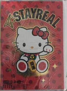 五月天阿信 STAYREAL 凱蒂筆記本(全新未開封)