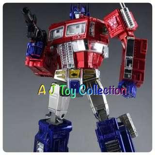 [ In Stock ] Transformers MP10-X Optimus Prime Metallic Color Version