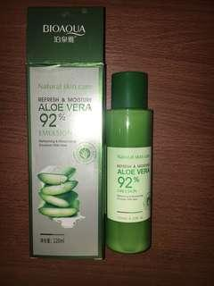 BIOAQUA REFRESH & MOISTURE ALOE VERA 92% EMULSION