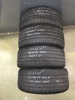 235/40/18 toyo proxes used tyre 1pc $55
