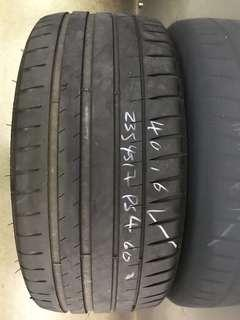 235/45/17 michelin ps4 used tyre 1pc left