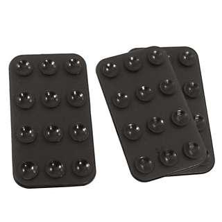 Mobile Black Silicone Mat Double Sided Suction Cup Holder