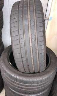 """Michelin 245/45/18 PS4 PSS 18"""" Tyres (70% Threads)"""