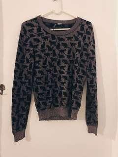 H&M Glitter Sweatshirt