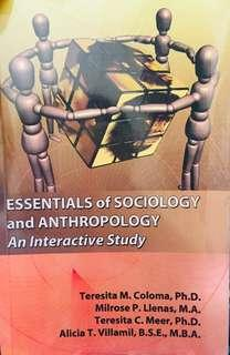 Essentials of SOCIOLOGY and ANTHROPOLOGY
