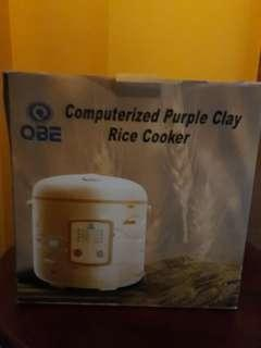 3L purple clay rice cooker
