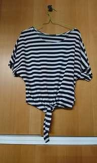 Strips Loose Fit top