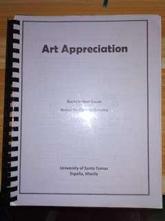 Art Appreciation by Galan