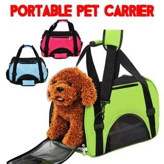 🚚 TPE009 Portable Pet Carrier Net Bag for Dog & Cat Small Animals