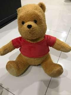 Brand new Winnie the Pooh Disney Christopher Robin soft stuff toy for cheap sale!