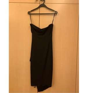 865707b0395 Daniel Yam black tube dress size M (UK8-10)