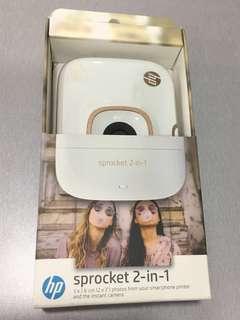 HP Sprocket 2-in-1 camera printer