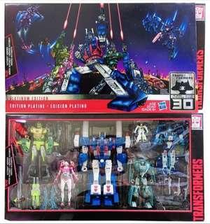 全新 美版 變形金剛 Transformers Generation Platinum Edition Autobot Heros Ultra Magnus Springer Arcee Kup Blurr