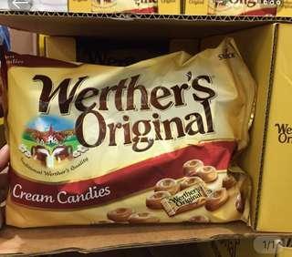 🚚 Werthers偉特 超濃太妃糖 牛奶糖 好市多