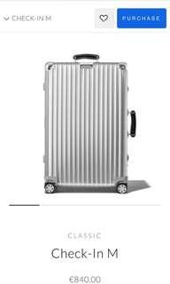 Rimowa Luggage Premium