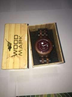 Wood Mark Watch