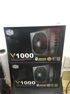 CoolerMaster V1000 80+ Gold Fully Modular PSU
