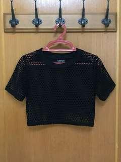 Topshop - Crop t-shirt