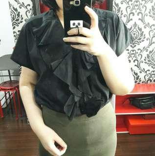 Korean blouse bigsize