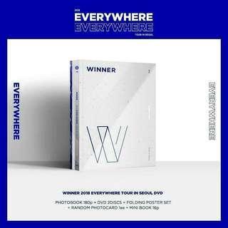 WINNER - 2018 EVERYWHERE TOUR IN SEOUL DVD
