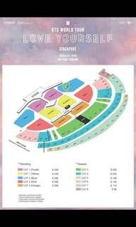 BTS Cat 3 tickets 2x