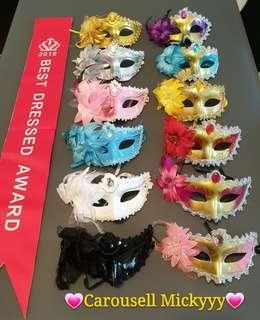 Elegant eye mask for Lady (Ready Stock)