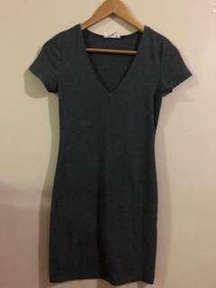 Forever 21 Dark Grey Dress