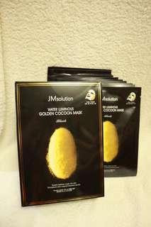 JMsolution 肌司研蠶絲安基酸水基美白面膜 GOLDEN COCOON MASK