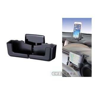 🚚 權世界@汽車用品 日本 NAPOLEX 黏貼式大螢幕智慧型手機架~加厚版(適用有掀蓋式手機殼) Fizz-1081