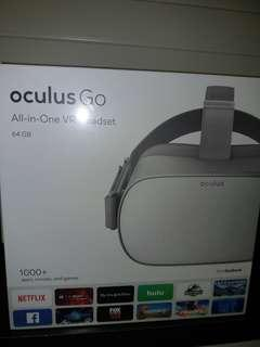 Oculus Go all in one VR headset
