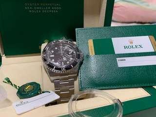 Rolex Sea-Dweller 50th anniversary MK1 126600