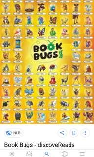 Clearing Book bugs 2 85cards complete set