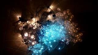 Led 波波燈串 三條 各大約十米