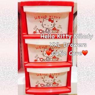 PREORDER Hello Kitty Milady XXL Drawers