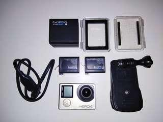 [URGENT] GoPro Hero 4 Silver with Accessories