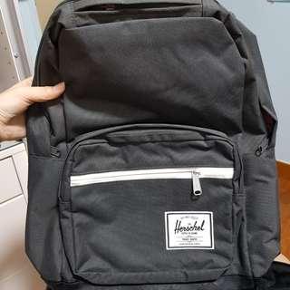grey herschel backpack