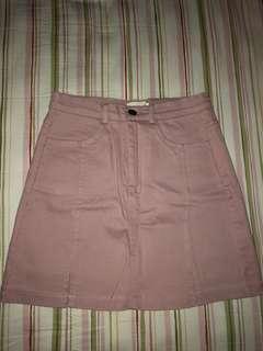 Fudge Rock pink skirt