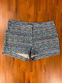 H&M Blue-Green Shorts