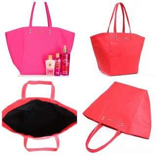 📣Ready Stock📣Victoria's Secret red large Tote Bag